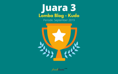 Juara 3 – Lomba Blog – Kudo GrabKios – September 2019