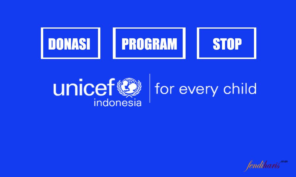 Ini 2 Cara Berhenti Donasi Unicef Indonesia