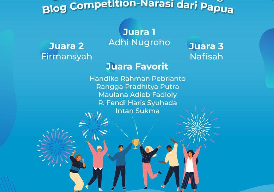 Juara Favorit – Lomba Blog Freeport Indonesia – Januari 2020