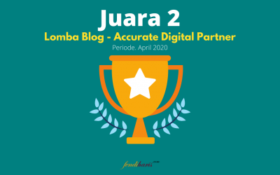 Juara 2 – Lomba Blog Accurate Digital Partner – April 2020