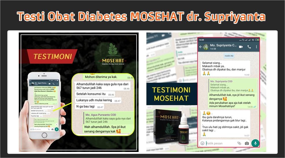 Obat Diabetes MOSEHAT yang Mujarab dan Berkhasiat 2020