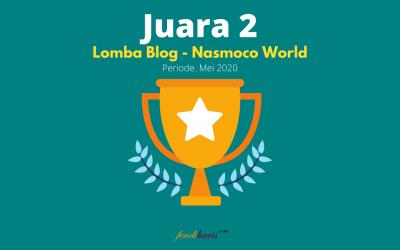 Juara 2 – Lomba Blog Nasmoco – Mei 2020