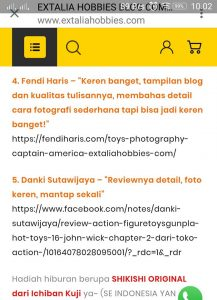 Lomba Blog Extalia