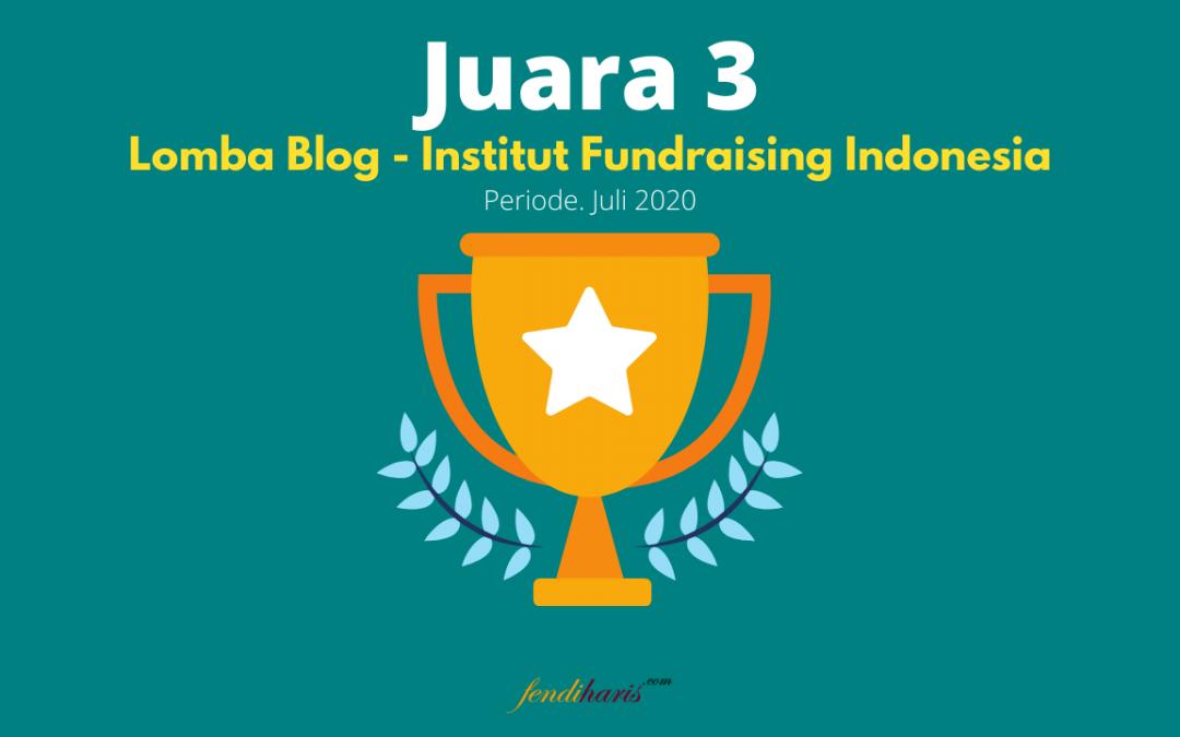Juara 3 – Lomba Blog IFI – Juli 2020