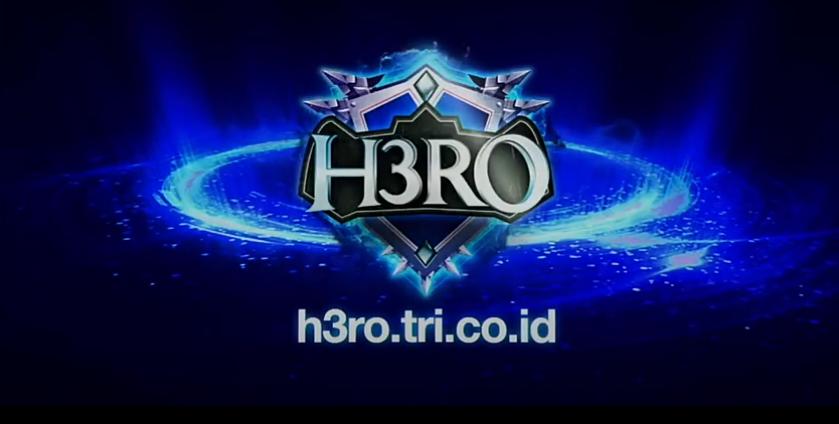 Perdana H3RO Tri Indonesia, Wujudkan Para Gamers Makin Pro!