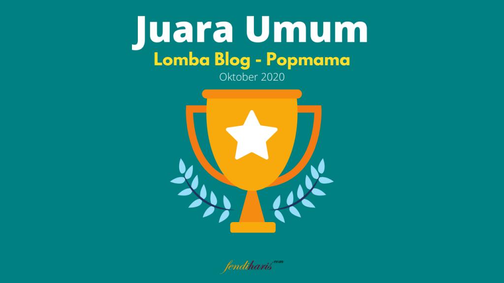 juara lomba blog popmama