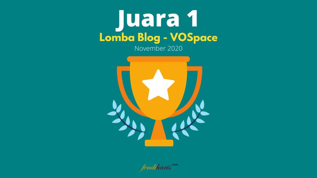 pemenang lomba blog VOSpace
