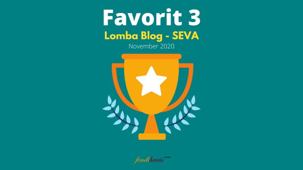 lomba blog seva