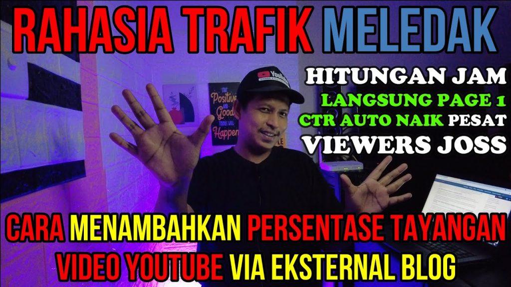 Cara Meningkatkan Rasio Klik Tayang Youtube