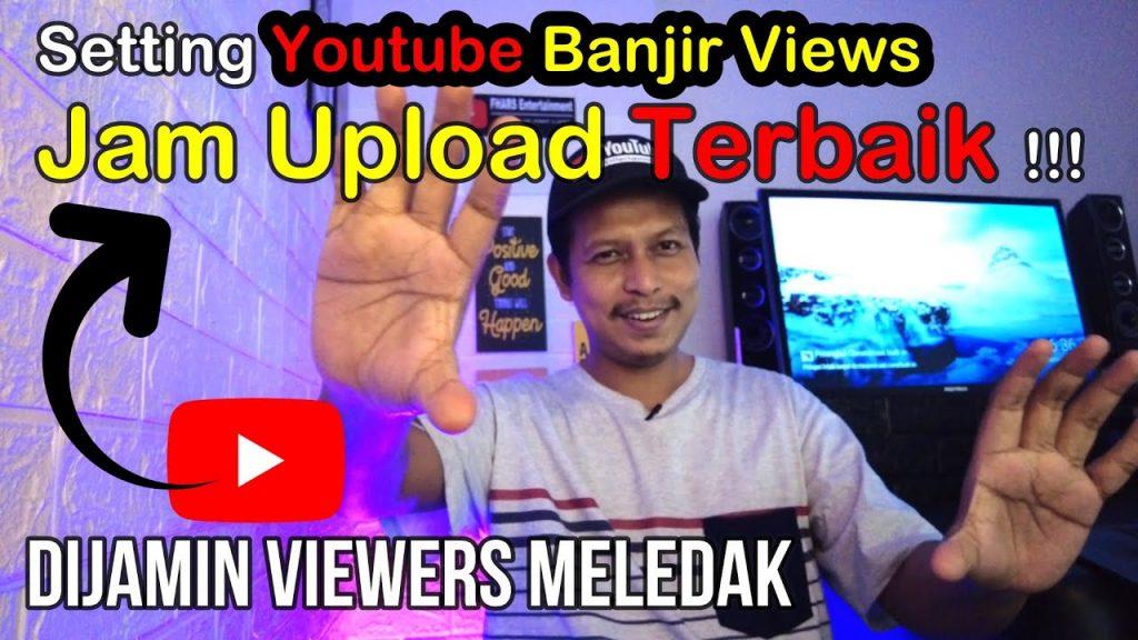 waktu terbaik upload video